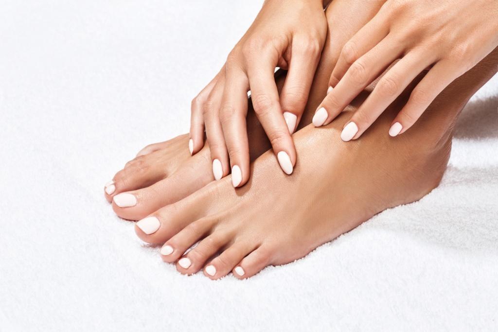 Manicure. Pedicure. Nails. Shellac