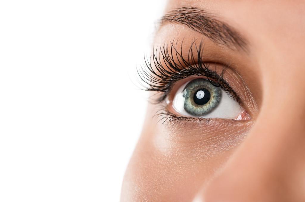 Eyelash extensions. Eyelash tint. Brow tint.